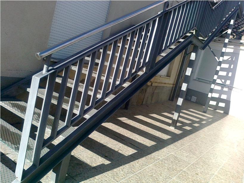 escaleras metlicas